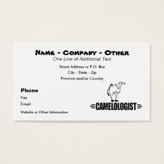 Custom Funny Camel Business Card