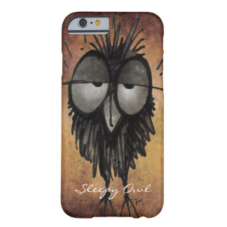 Custom Funny Owl Barely There iPhone 6 Case