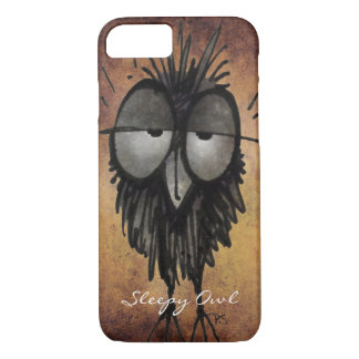Custom Funny Owl iPhone 7 Case