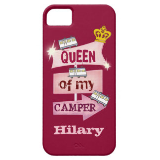 Custom Funny RVing Trailer Camp iPhone 5 / 5S Case
