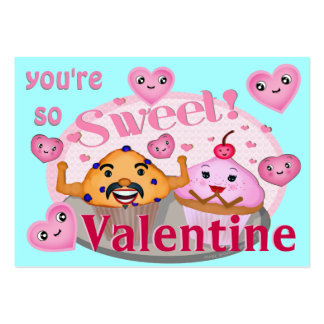 Custom Funny Valentines Business Card Templates