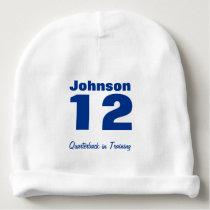 Custom Future Athlete Baby Cotton Beanie