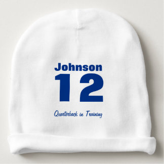 Custom Future Athlete Baby Cotton Beanie