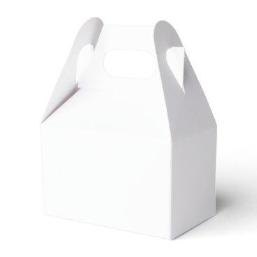 USA Themed Custom Gable Favor Box