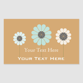 Custom Gardener Florist Floral Label Yellow Pastel