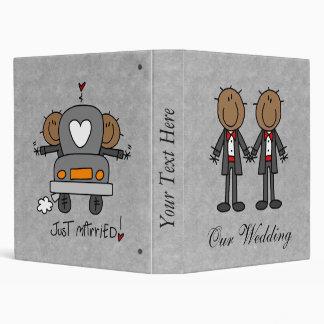Custom Gay Marriage Wedding Album Binder