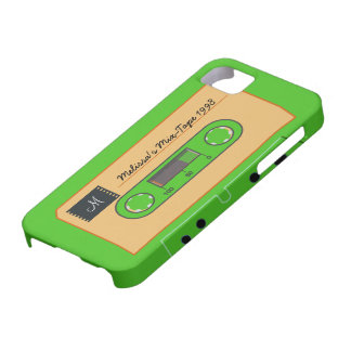 Custom Geen Mix-Tape iPhone 5 Case