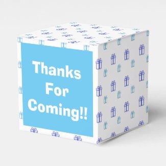 Custom Gift Box Favor Favor Boxes