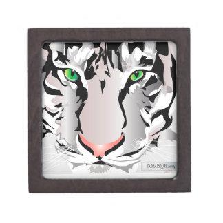 CUSTOM GIFT BOX- TIGER-WHITE/GREY GIFT BOX