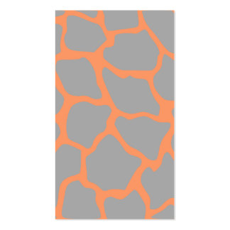 Custom giraffe mommy card Double-Sided standard business cards (Pack of 100)