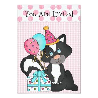 Custom Girl's Birthday Invitation