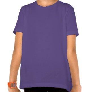 Custom Girls T-shirt: Heart-shaped Daisychain