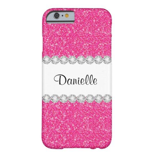 iphone 6s case pink glitter