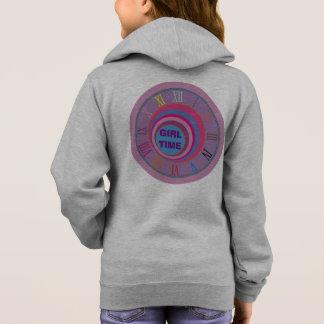 Custom girly pretty swirl circles tornado cute art hoodie