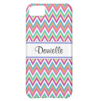 Custom Girly Tribal Pastels Chevron iPhone 5C Case Case For iPhone 5C