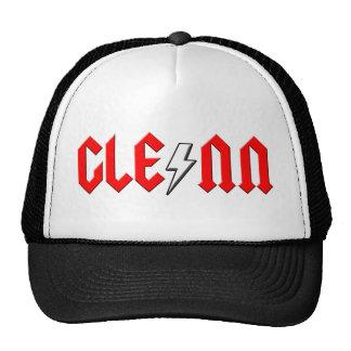 custom GLENN rock and roll shirt Hats