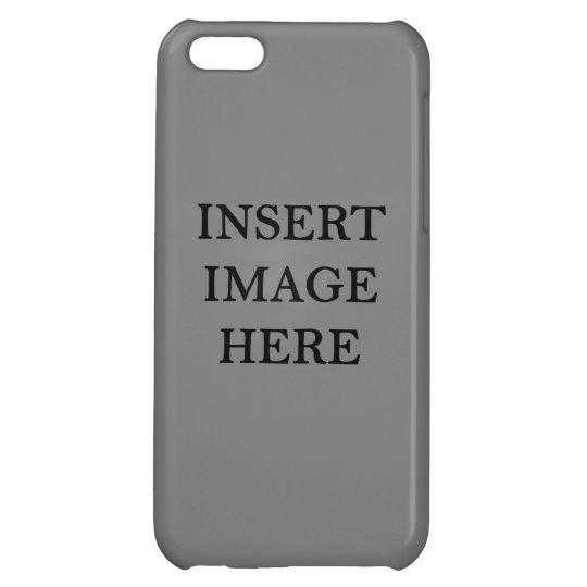 Custom Glossy Iphone 5c Case Template Diy Zazzle