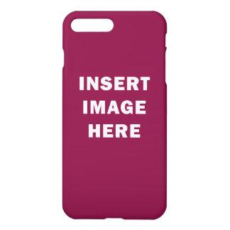 Custom glossy iPhone 7 Plus Case Template DIY