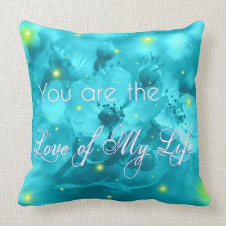 Custom Glow Bug Decorative Throw Pillow
