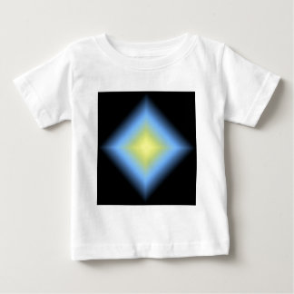 Custom Glowing Abstract Design Baby T-Shirt
