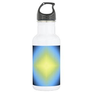 Custom Glowing Abstract Design 18oz Water Bottle
