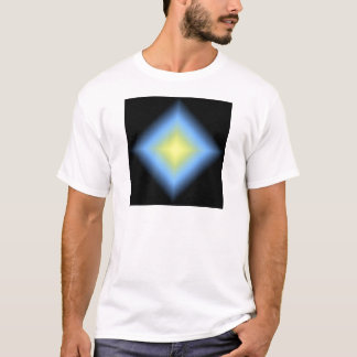 Custom Glowing Abstract Design T-Shirt