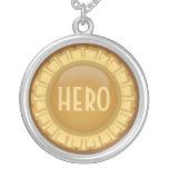 Custom Gold award necklace