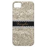Custom GOLD GLITTER Bling I PHONE 5 iPhone 5 Cover
