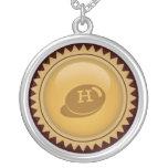Custom Gold symbol necklace