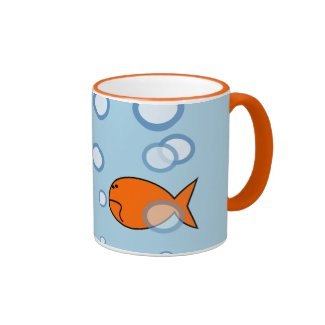 Custom Goldfish Mug