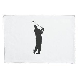 Custom Golf Player Pillow Case