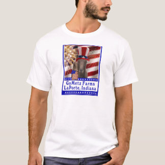 CUSTOM GOMETZ FARMS PATRIOTIC GOAT T-Shirt