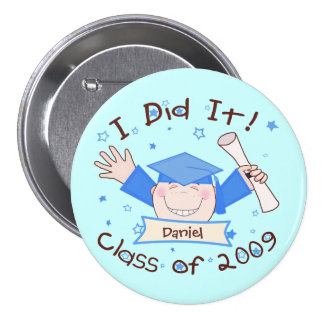 Custom Graduation Button