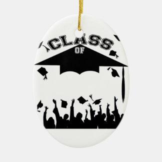 Custom Graduation Ceramic Ornament