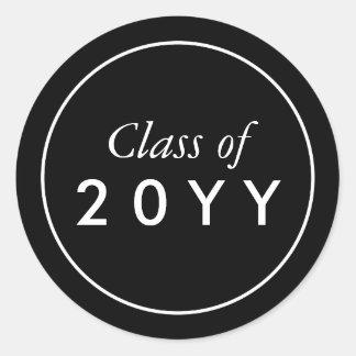 Custom Graduation Classic Round Sticker