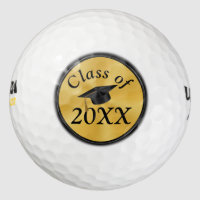 Custom Graduation Golf Balls with Your Text, Year