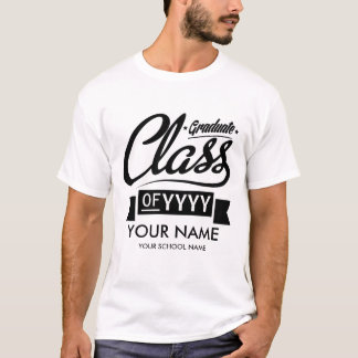 Custom Graduation (Name, School Name, & Grad Year) T-Shirt