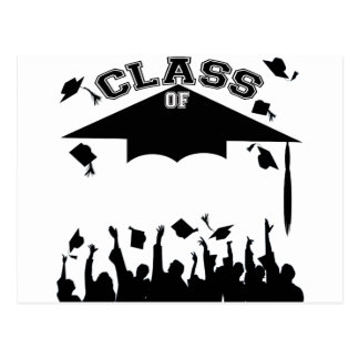 Custom Graduation Postcard