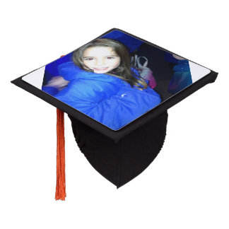 Custom Graduation Tassle Hat  With Picture