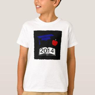 Custom Graduation Year Red White and Blue Design T-Shirt