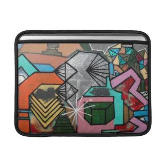"""Custom Graffiti Diamond MacBook Air 11"""" Sleeve"""