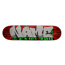 CUSTOM GRAFFITI SKATEBOARD
