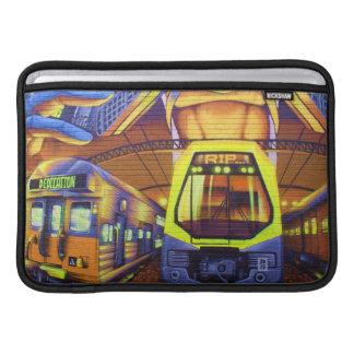 """Custom Graffiti Trains MacBook Air 11"""" Sleeve"""