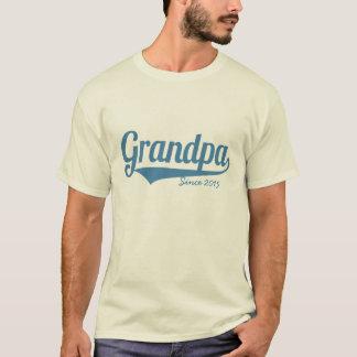 Custom grandpa since year T-Shirt