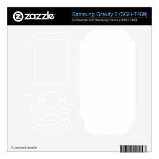 Custom Gravity 2 Skin Samsung Gravity 2 Decal