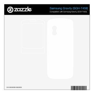 Custom Gravity Skin Skins For Samsung Gravity