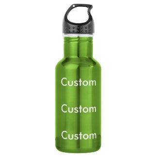Custom GREEN Stainless Steel 18oz Water Bottle