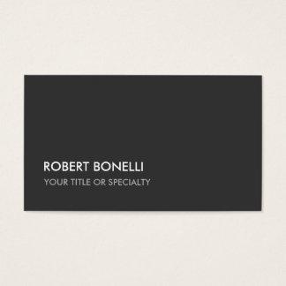 Custom Grey Elegant Stylish Standard Business Card