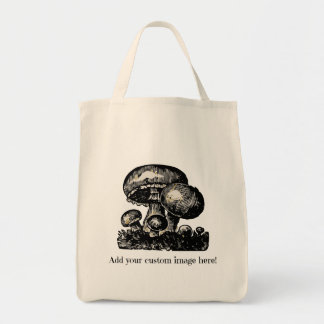 Custom Grocery Shopping Tote - add your own image