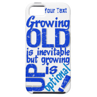 Custom Growing Old vs. Up iPhone 5 Case-Mate